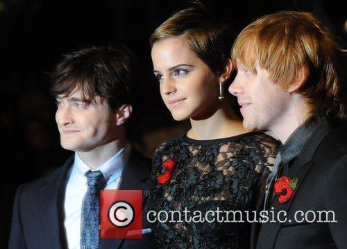 Daniel Radcliffe, Emma Watson, Harry Potter and Rupert Grint 8
