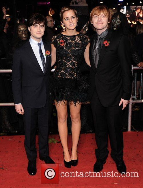Daniel Radcliffe, Emma Watson, Harry Potter and Rupert Grint 11