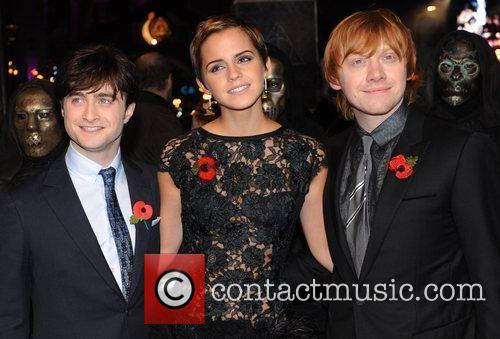 Daniel Radcliffe, Emma Watson, Harry Potter and Rupert Grint 13