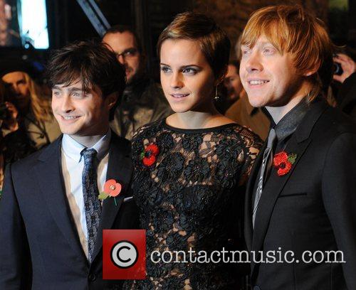 Daniel Radcliffe, Emma Watson, Harry Potter and Rupert Grint 14