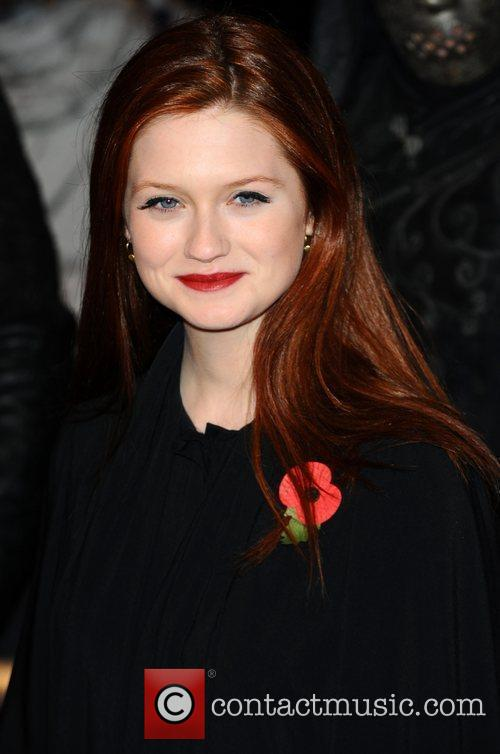 Bonnie Wright and Harry Potter 1