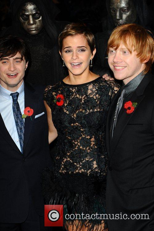 Daniel Radcliffe, Emma Watson, Harry Potter and Rupert Grint 19