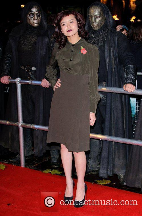 Katie Leung and Harry Potter 5