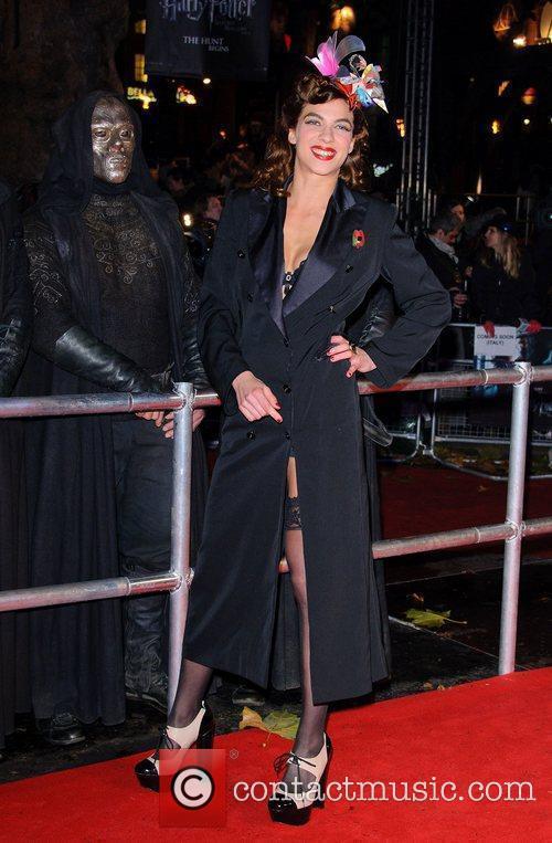 Natalia Tena and Harry Potter 5