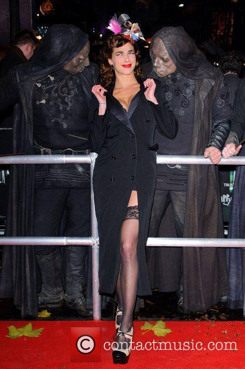 Natalia Tena and Harry Potter 1