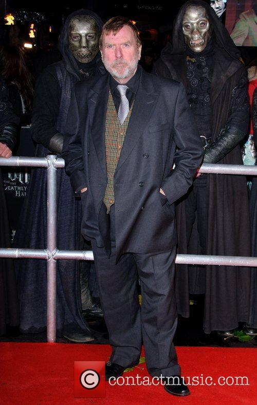Timothy Spall and Harry Potter 4