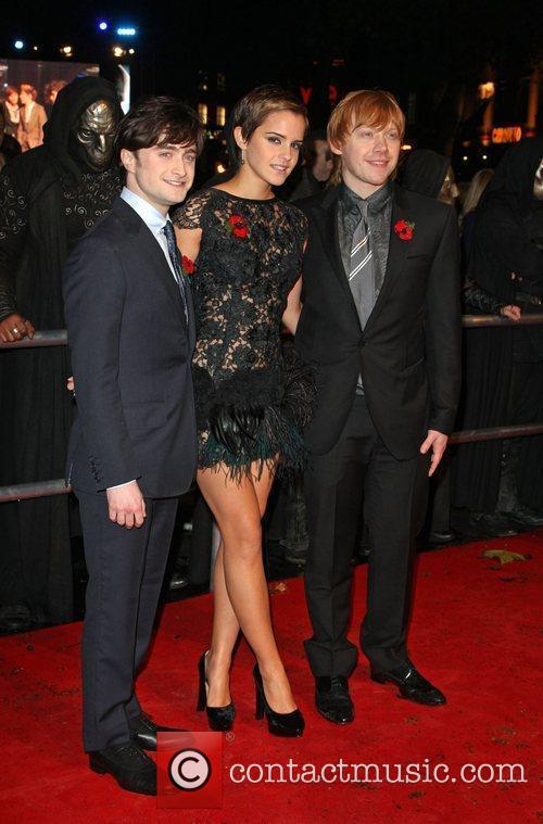 Daniel Radcliffe, Emma Watson, Harry Potter and Rupert Grint 5