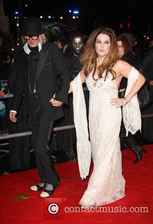 Lisa Marie Presley, Harry Potter and Michael Lockwood 3