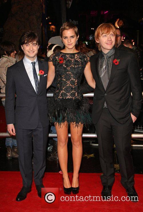 Daniel Radcliffe, Emma Watson, Harry Potter and Rupert Grint 6