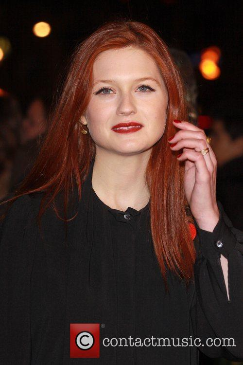 Bonnie Wright and Harry Potter 4