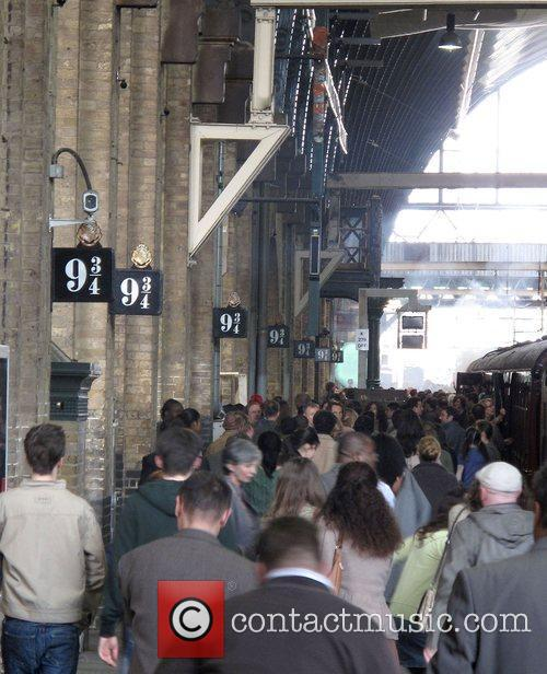 The new Harry Potter film being filmed at...