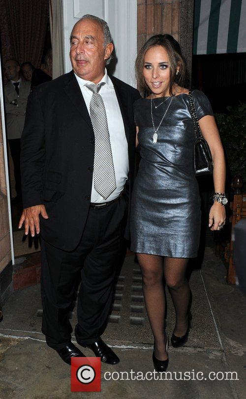 Sir Philip Green and Chloe Green,  at...