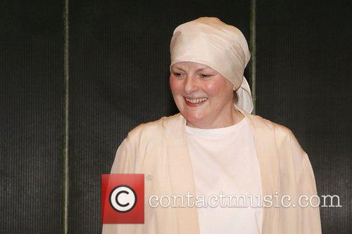 Brenda Blethyn  Opening night curtain call for...