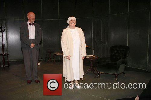 Niall Buggy and Brenda Blethyn  Opening night...