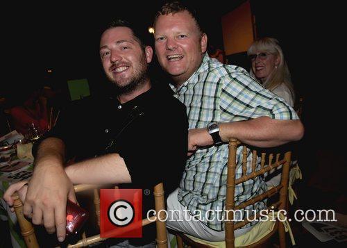 Shane G. And boyfriend The Retreat's 15th Annua...