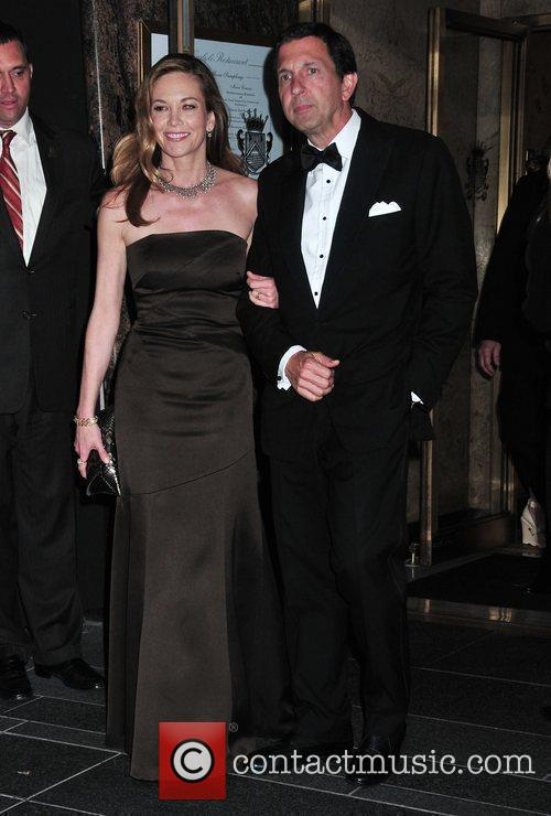 Dianle Lane and Guest leaving the Carlyle Restaurant...