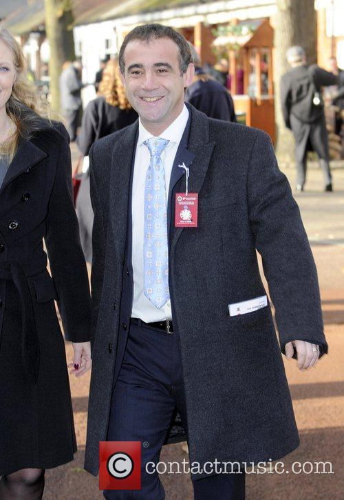 Michael Levell Cast members of 'Coronation Street' enjoy...