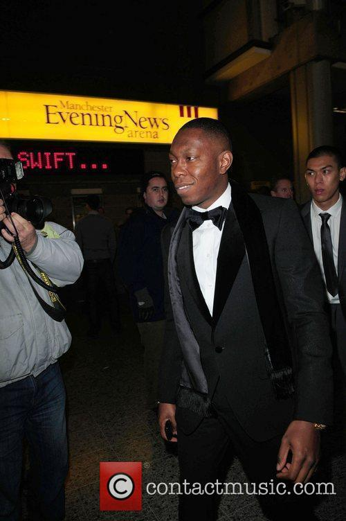 Dizzy Rascle celebrities arrive at the MEN Arena...