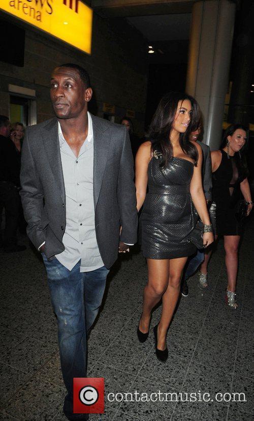 Emile Heskey and Chantelle Tagoe  celebrities arrive...