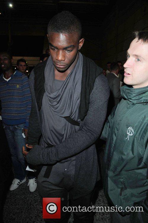 Micah Richards celebrities arrive at the MEN Arena...