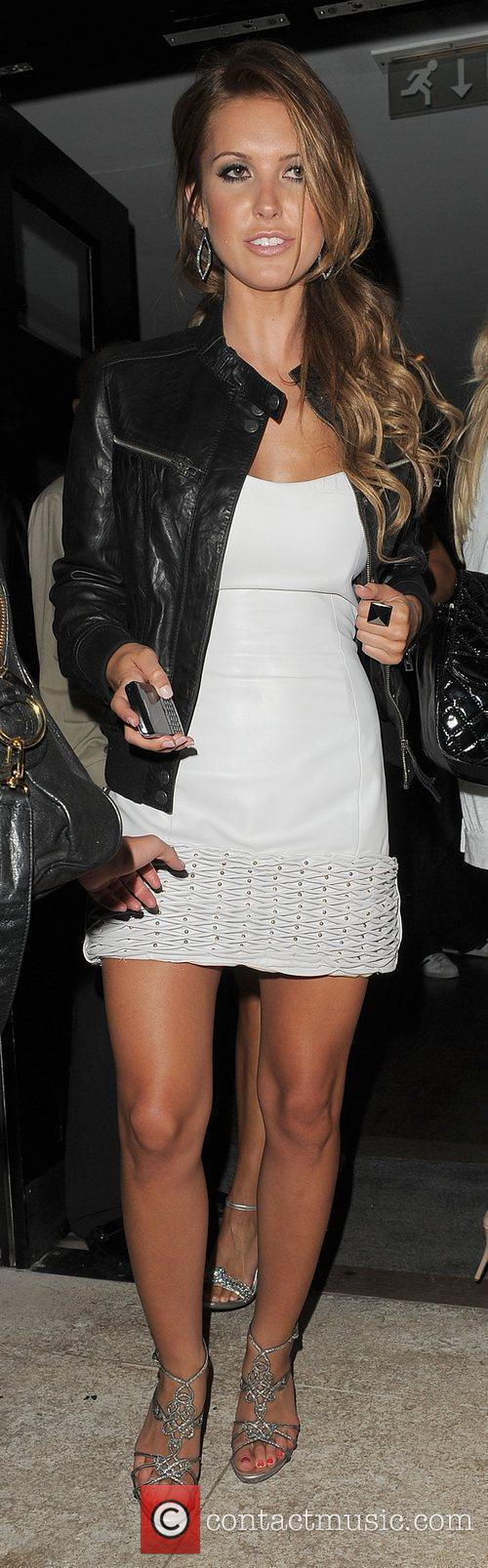Audrina Patridge leaving 'The Hills' finale party, held...