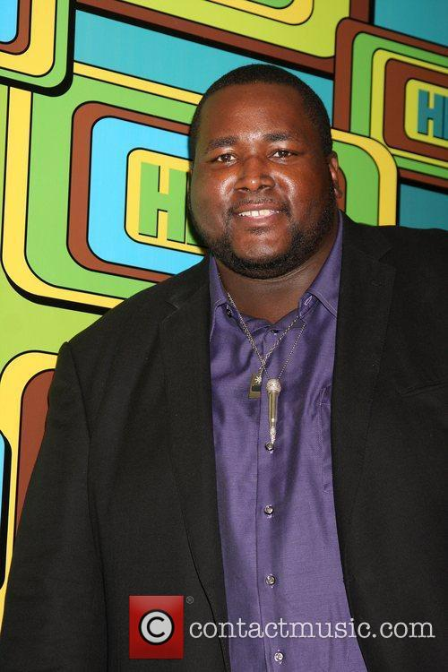 Quinton Aaron and Hbo 10