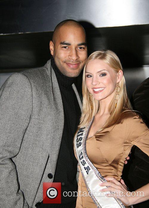 Miguel Perdomo and Miss USA Kristen Dalton Hearts...