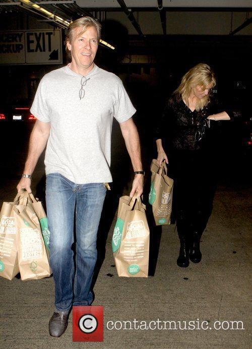 Jack Wagner and Heather Locklear leaving Whole Foods...