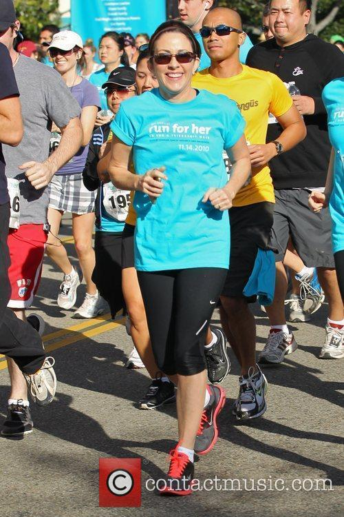 The Middle star Patricia Heaton takes part in...