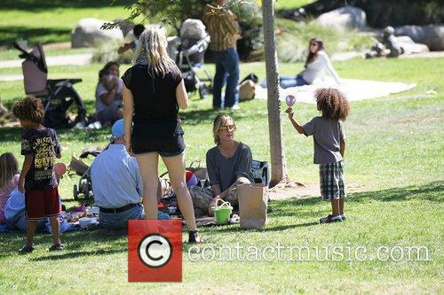 Heidi Klum and Gunther 5