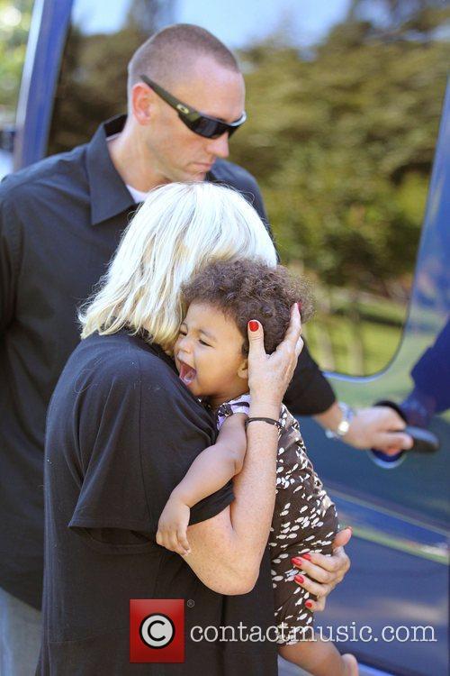 Heidi Klum's Mother, Erna and daughter Lou Sulola...