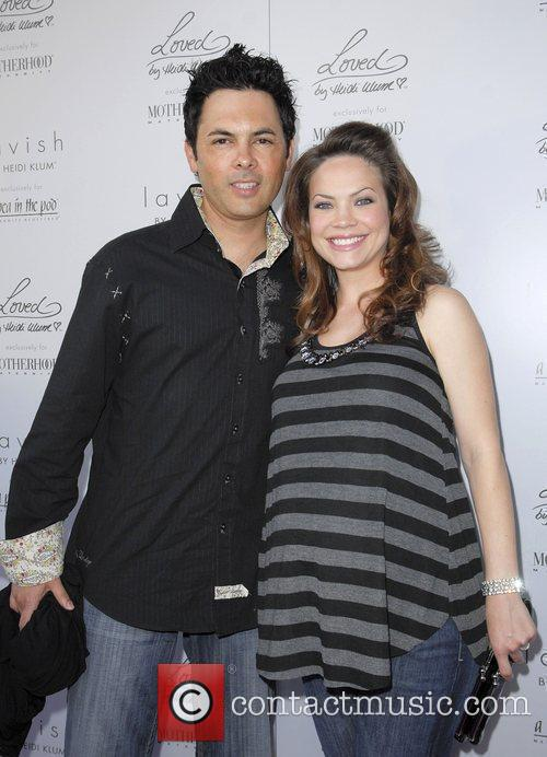 Rebecca Herbst and Michael Saucedo The launch of...