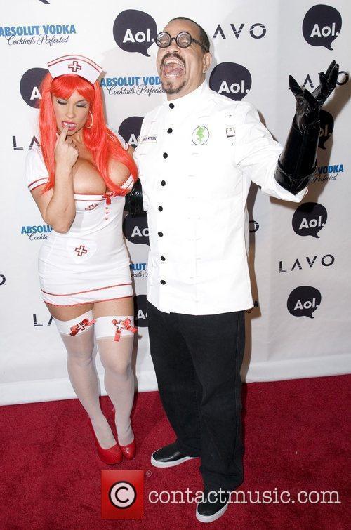Ice-T and Heidi Klum 2