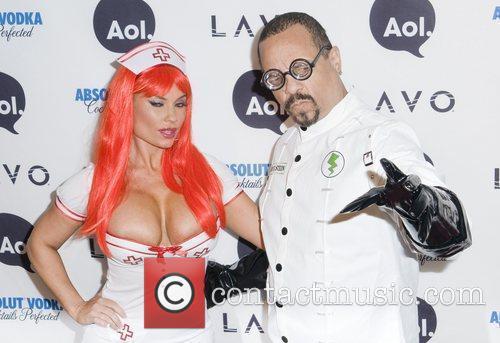Ice-T and Heidi Klum 1
