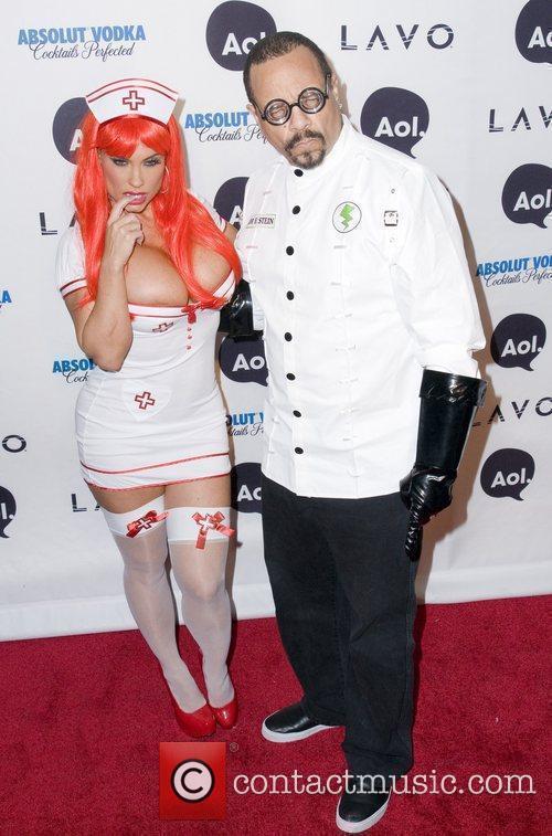 Ice-t and Heidi Klum 4