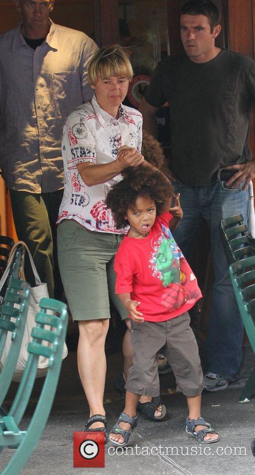 Heidi Klum's Son and Heidi Klum 2
