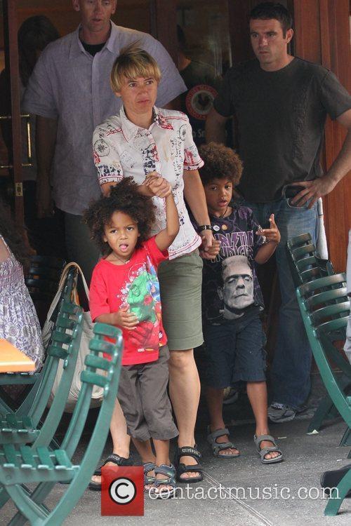 Heidi Klum's Sons and Heidi Klum 2