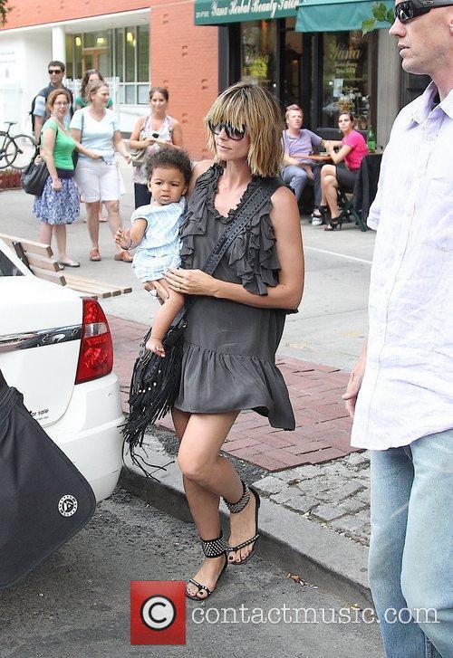 Heidi Klum, Bar Pitti