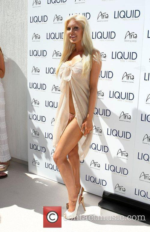 Heidi Montag Celebrates LIQUID Grand Opening At Aria...