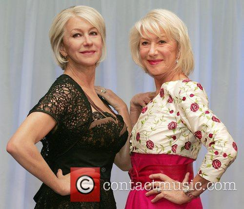 Helen Mirren waxwork unveiling held at Madame Tussauds.