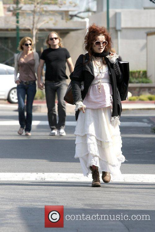 Helena Bonham Carter out and about in Malibu...