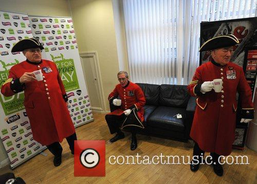 Chelsea Pensioners Help for Heroes Day at Smooth...