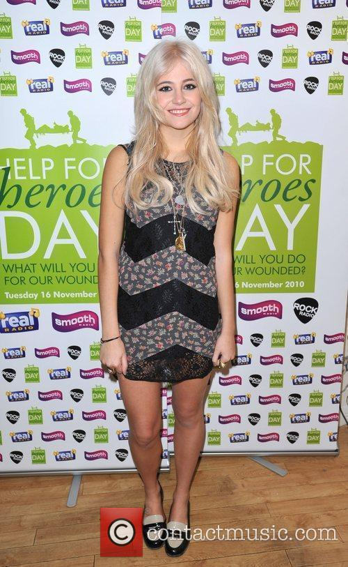 Pixie Lott Help for Heroes Day at Smooth...