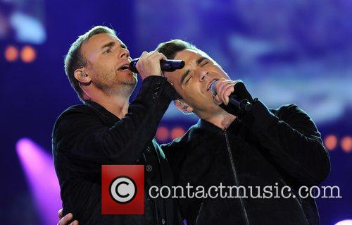 Robbie Williams and Gary Barlow 20