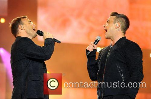 Robbie Williams and Gary Barlow 1