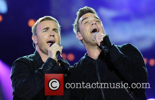 Robbie Williams and Gary Barlow 2