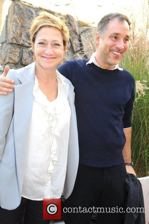 Edie Falco and Guest 18th Annual Hamptons International...