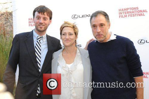 Edie Falco and Guests 18th Annual Hamptons International...