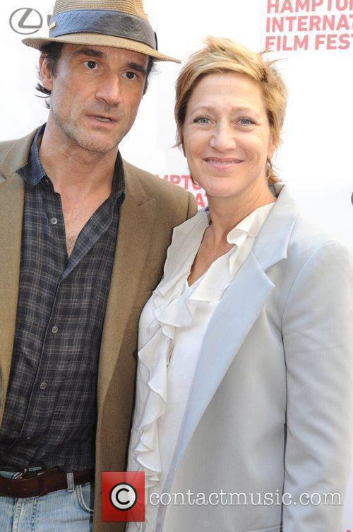 Elias Koteas and Edie Falco 18th Annual Hamptons...