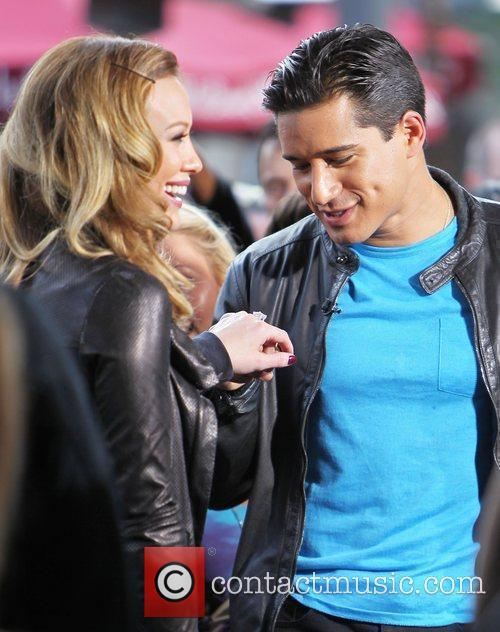 Mario Lopez and Hilary Duff 1